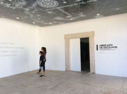 Núcleo Museológico Rota da Escravatura: entrada Foto: MIR, 2016