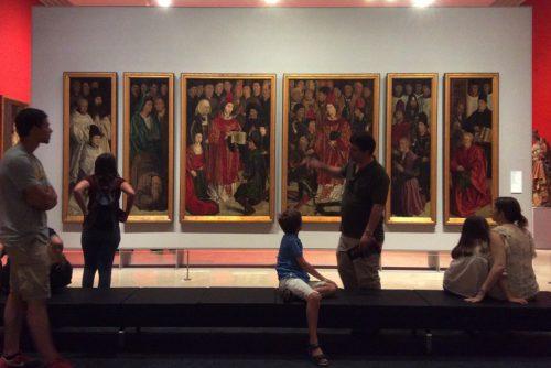 Os painéis de São Vicente Nuno Gonçalves, c. 1470 Lisboa, Museu Nacional de Arte Antiga