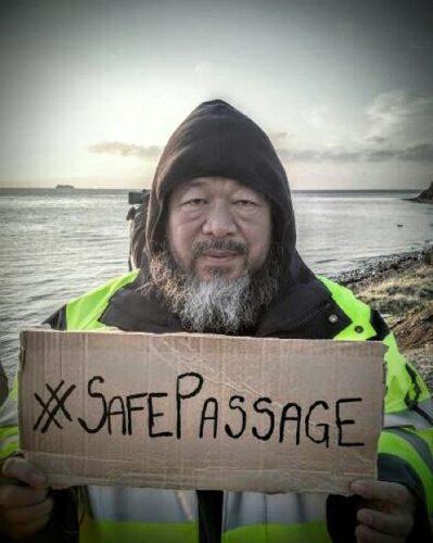 #SafePassage Ai Weiwei, 2016 Foto: Ai Weiwei Studio