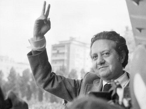 Mário Soares Lisboa, 1974 Foto: Keystone/Hulton Archive/Getty Images
