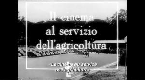 """Extrait de Cinema Al servizio del Agricoltura (actualités de cinéma, 1953) in """"Résistance Naturelle"""" (00:22:53)"""