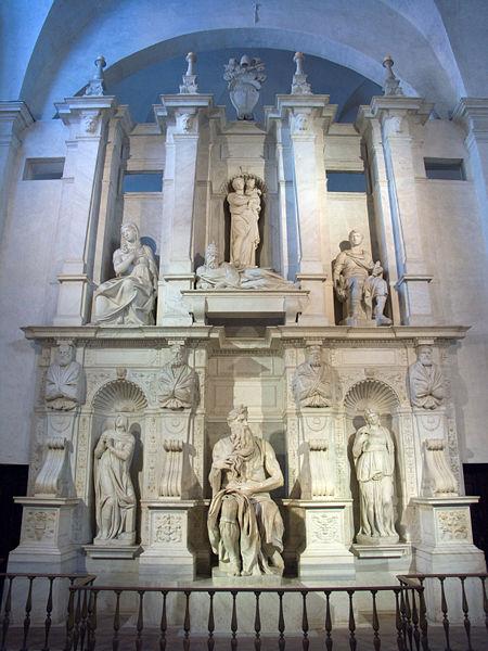 Moïse de Michel-Ange, église St Pierre aux liens, Rome