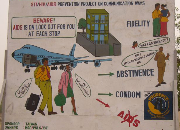 Campagne anti-sida au Congo