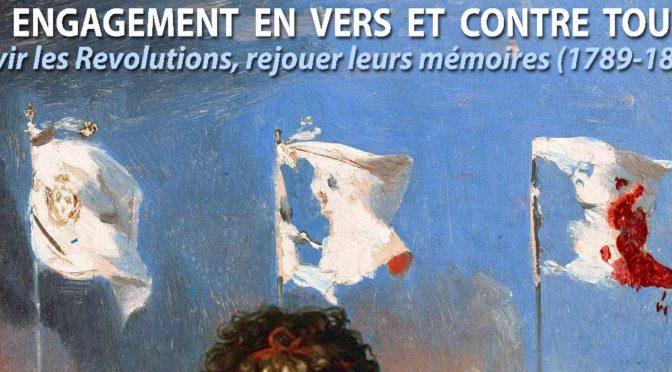 Journée d'étude «Un engagement en vers et contre tous ?», Clermont-Ferrand, 23 mars 2018