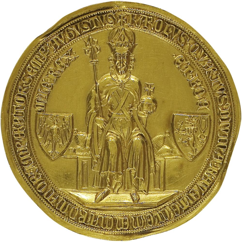 """Verlängert: Ausstellung """"Die Goldene Bulle Kaiser Karls IV. 1356-2016: das Kurkölner Exemplar in Darmstadt"""" läuft bis 30. April 2017"""