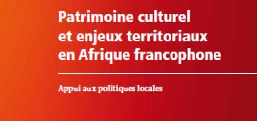 Patrimoine culturel enjeux territoriaux