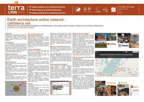 Cartoterra, un atlas en ligne des architectures de terre PACCOUD GRÉGOIRE & RAKOTOMAMONJY BAKONIRINA