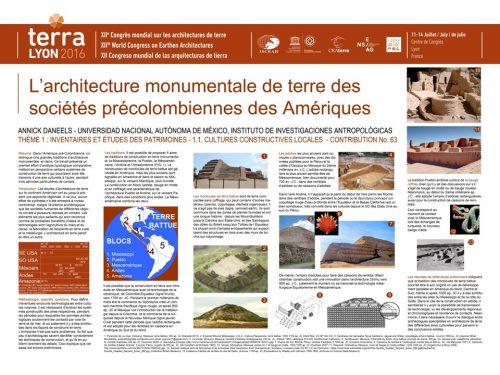 L'architecture monumentale en terre des sociétés précolombiennes des Amériques DANEELS ANNICK
