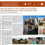 Les maisons de terre et de bois en Picardie : renaissance et reconnaissance d'une culture constructive locale. ALGLAVE GILLES