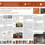 Earthbag building in Brazil: testing a new bag material. CLARISSA ARMANDO DO SANTOS, LISIANE ILHA LIBRELOTTO (trad.)