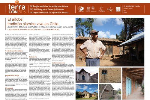 El adobe - tradición viva en Chile. RIVERA Amanda & MUÑOZ Cristian
