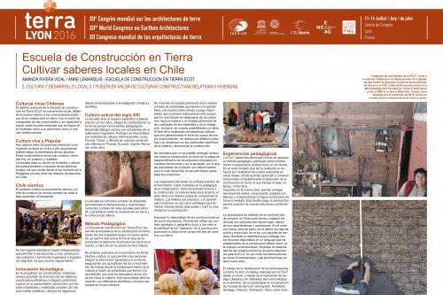 Escuela de construcción en tierra, valorización contemporánea de una saber hacer ancestral y local. RIVERA VIDAL AMANDA & LEMARQUIS ANNE