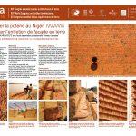 Réinventer la poterie au Niger pour limiter l'entretien de façade en terre. VANDERMEEREN ODILE