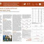 Flexural study of textile-reinforced compressed earth block. BERNAT-MASO ERNEST ; GIL LLUIS ; ESCRIG CHRISTIAN