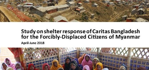 Study on shelter response of Caritas Bangladesh for the Forcibly-Displaced Citizens of Myanmar