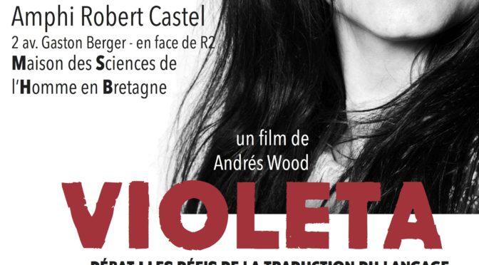 Cycle de cinéma chilien janvier-février 2018, Université Rennes 2