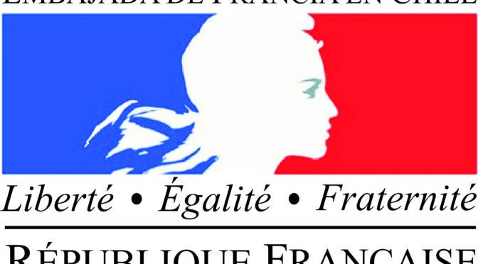 14 Enero 2018: Apoyo a la organización científica- Embajada de Francia en Chile