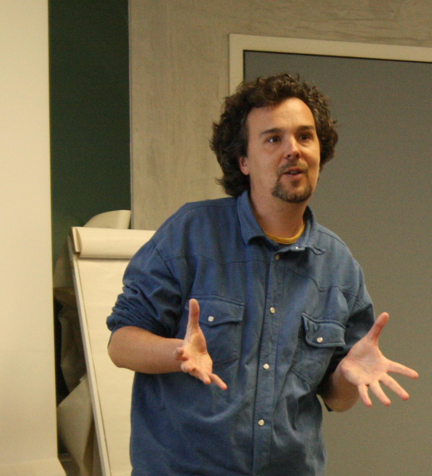 Nicolas présente OpenText au séminaire interne du Cléo