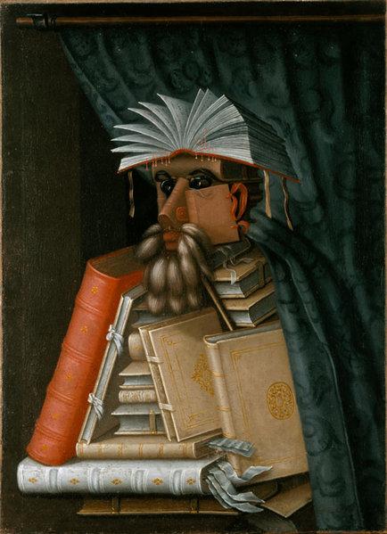 Le bibliothécaire. G. Arcimboldo