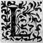 Source : Jean Le frere de Laval,  La vraye et entiere histoire des troubles et guerres civiles advenues de nostre temps…, Paris, Jean Poupy, 1583. http://lettrines.free.fr/img.php?imgurl=lettrines/plantes/laval_l2.gif