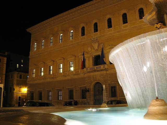 École française de Rome, Palazzo Farnese