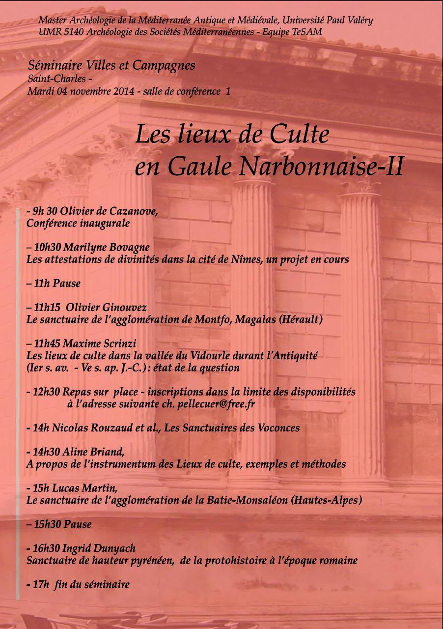 Annonce Seminaire V&C 04-11-2014