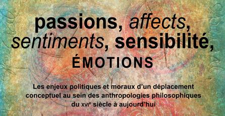 journée passions affects sentiments sensibilité émotions