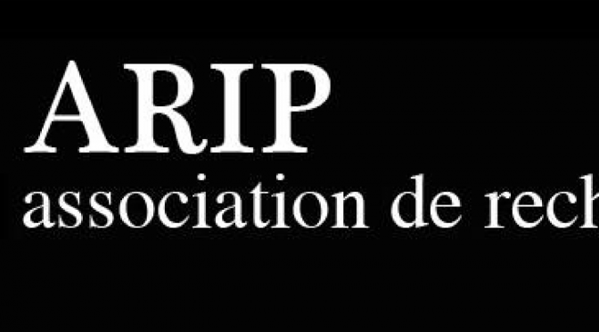 Séminaire de l'Association de Recherche sur l'Image Photographique (ARIP)