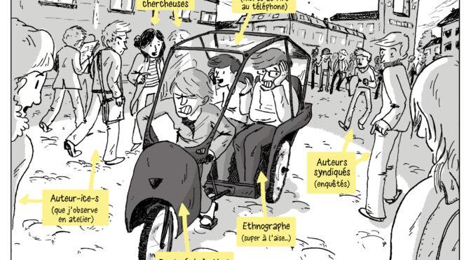 BD et romans graphiques au travail