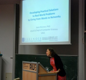 Jana Diesner's keynote speech at HNRWS2015