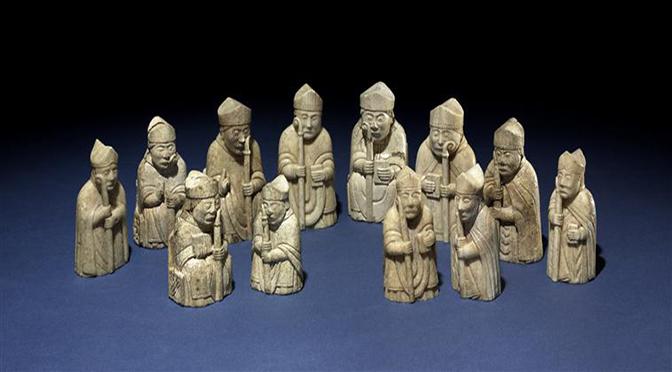 Luc Bourgeois, Recevoir et réinventer la culture matérielle de l'autre :  le jeu d'échecs entre espace islamique et mondes normands