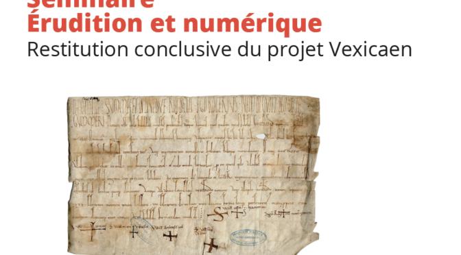 Restitution conclusive du projet Vexicaen