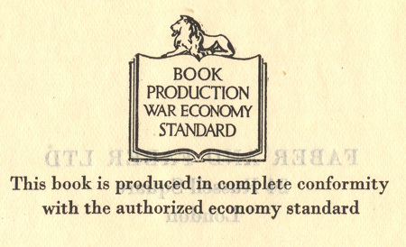 Book production war economy standard