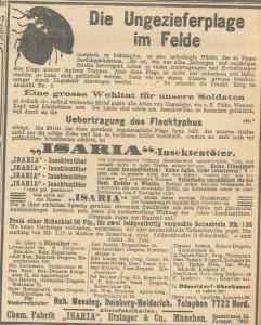 30.4.1915 Werbung