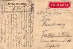19150930_Ehlen_KarteSchützengraben