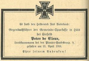 Sparkasse, 1916-05-15