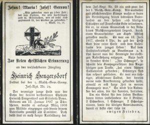 schulchronik Dürscheven 1914_1918_Seite_10 sengersdorf