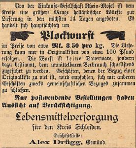 13091916 blockwurst