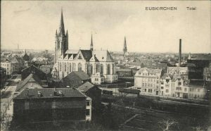 Foto 436 08091916 Euskirchen mit Kirche