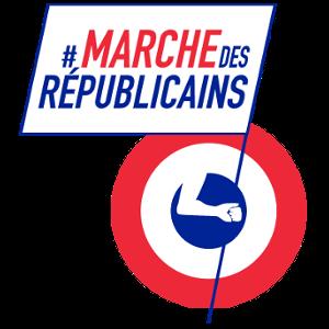 Logo de la marche des Républicains