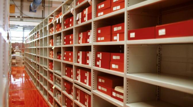 Archives de galeries d'art : état des lieux