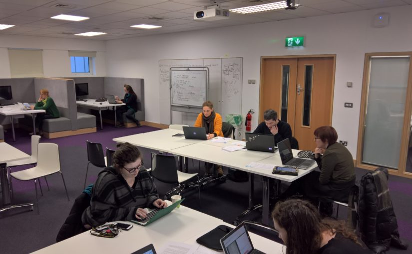 #DouglassDay Transcribe-a-thon in University College Cork