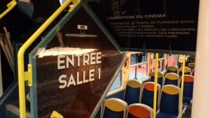 Gaumont, SNCF et le STIF célèbrent ensemble les 120 ans du cinéma - Entrée salle 1 © IHTP - CNRS