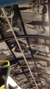 """Gaumont, SNCF et le STIF célèbrent ensemble les 120 ans du cinéma Salle 3 : plafond Tontons"""" © IHTP - CNRS"""