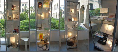 Exposition « Le Brady 60 ans de projections » - Vitrines - © IHTP-CNRS-PARIS8