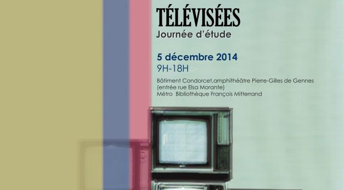 Journée d'étude «Auteurs / amateurs de séries télévisées» (Paris, 5 décembre 2014)
