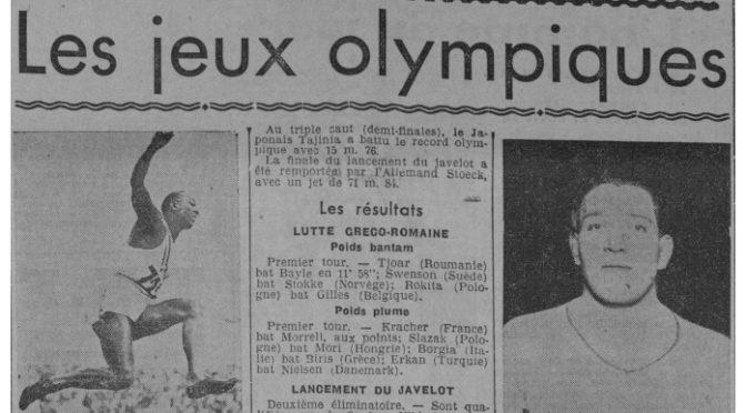 Parution : «Belphégor»,  JO 1936