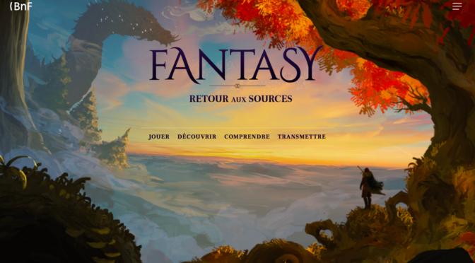 Fantasy, Retour aux sources : ouverture du site internet, conférence d'Anne Besson