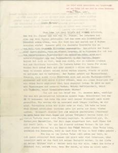 Brief von Willhel Ritthaler an seine Mutter, 20.2.1942, in: IfZArch, ED 659/9. Foto: IfZ-Archiv. Alle Rechte vorbehalten.