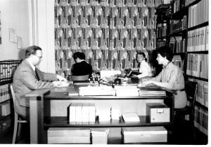 Mitarbeiter des Sudetendeutschen Archivs 1957